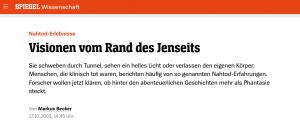 """Artikel """"Der Spiegel"""""""